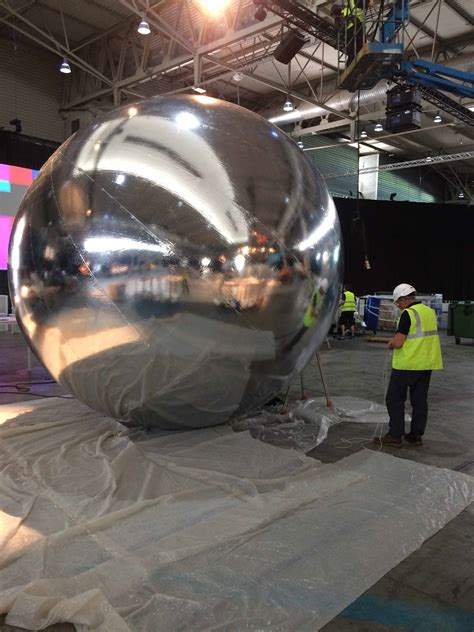 inflatable-silver-sphere - ABC Inflatables