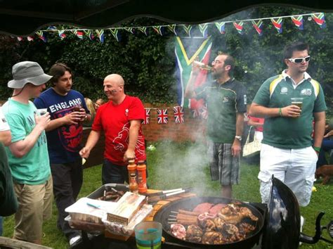 Ag shame, average Brit only has 11 braais a year