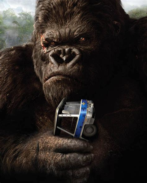King Kong Rattles 3-D Cage as Theme Park Freak | WIRED