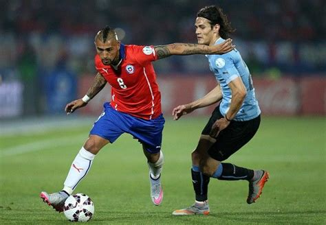 Uruguay Vs Chile (World cup 2018 Qualifying): Match