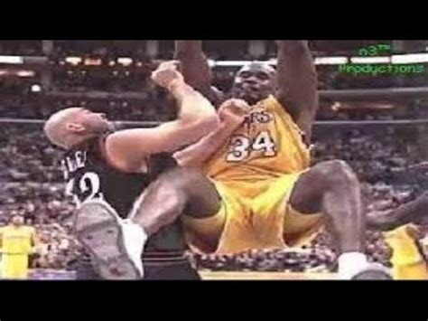 Shaquille O'neal: The Real Superman - NBA Highlights - YouTube